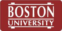 009606 Boston-University License Plate