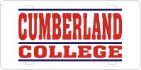 Cumberland College License Plate