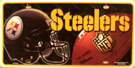 Pittsburg Steelers License Plate