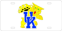 105063 Kentucky, University of - UK Wildcat Silver-Blue