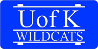 105100 Kentucky, University of - U of K Wildcats Blue-Silver