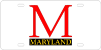 115000 Maryland University - Maryland Silver-Black-Red