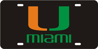 123043 Miami, University of - U Miami Black-Green-Orange