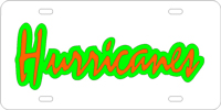 123050 Miami, University of - Hurricames Silver-Green-Orange