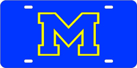 124019 Michigan, University of - M Blue-Yellow