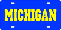 124033 Michigan, University of - MICHIGAN Blue-Yellow
