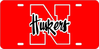 130058 Nebraska, University of - N Huskers Red-Silver