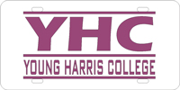 222036 Young Harris College - YHC Young Harris Bars Silver-Purple