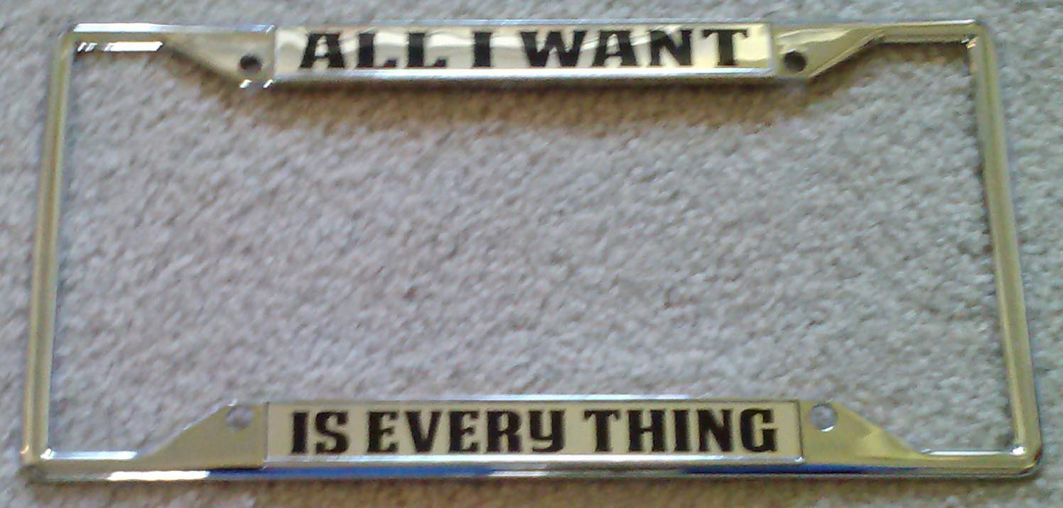 All I Want-Is Everything