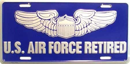 US Airforce Retired