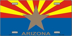 Arizona Big Star License Plate