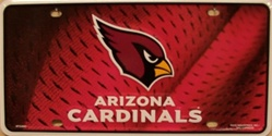 Arizona Cardinals NFL Football License Plate
