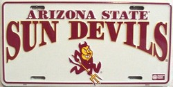 LP-872 AZ Arizona State Sun Devils License Plate - 2335