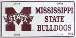 LP-892 Mississippi State Univ License Plate - 419