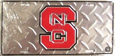 LP-940 North Carolina State Wolfpack College License Plate - 2589