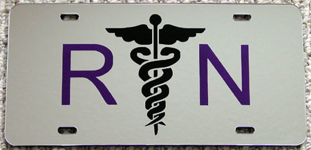 RN License Plate